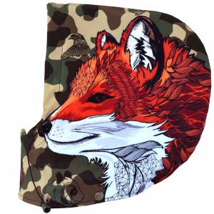 Kaptur snowboardowy Camo Animals FOX