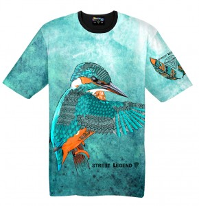 KING FISHER t-shirt damski