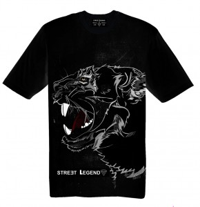 BLACK PANTHER t-shirt damski