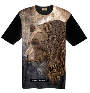 BEAR t-shirt damski