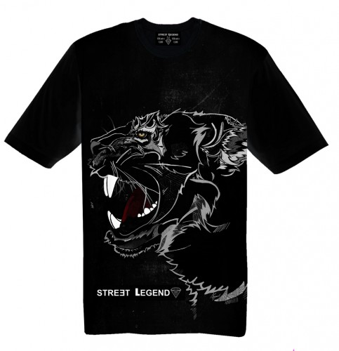 Black Panther t-shirt Street Legend