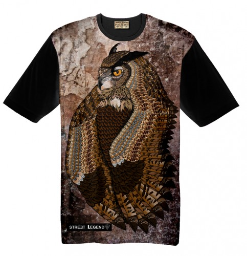 t-shirt OWL Street Legend