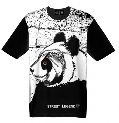 t-shirt Panda Street_Legend