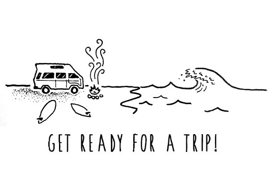 get ready for a trip